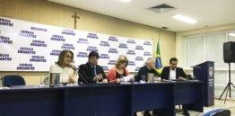 HidroMares em palestra na UniSantos sobre ressaca na cidade
