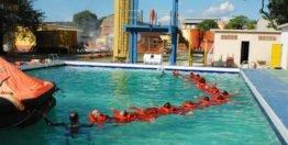 Segurança da equipe, treinamentos e uso de EPI's
