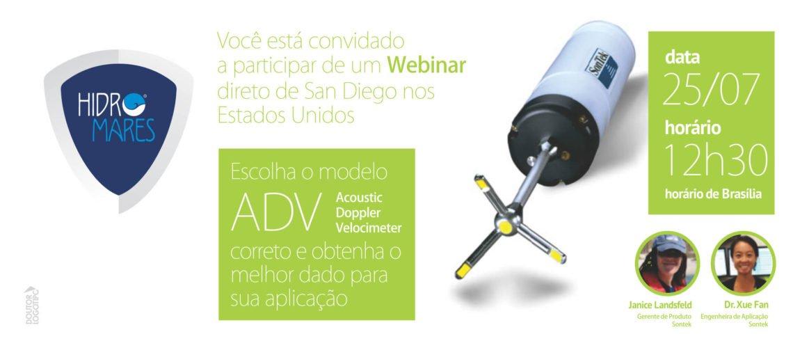 Webinar SONTEK | Sensores ADV | Oceanografia