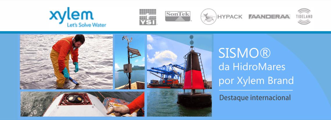 SISMO® por Xylem Brand: monitoramento faz os negócios portuários fluírem