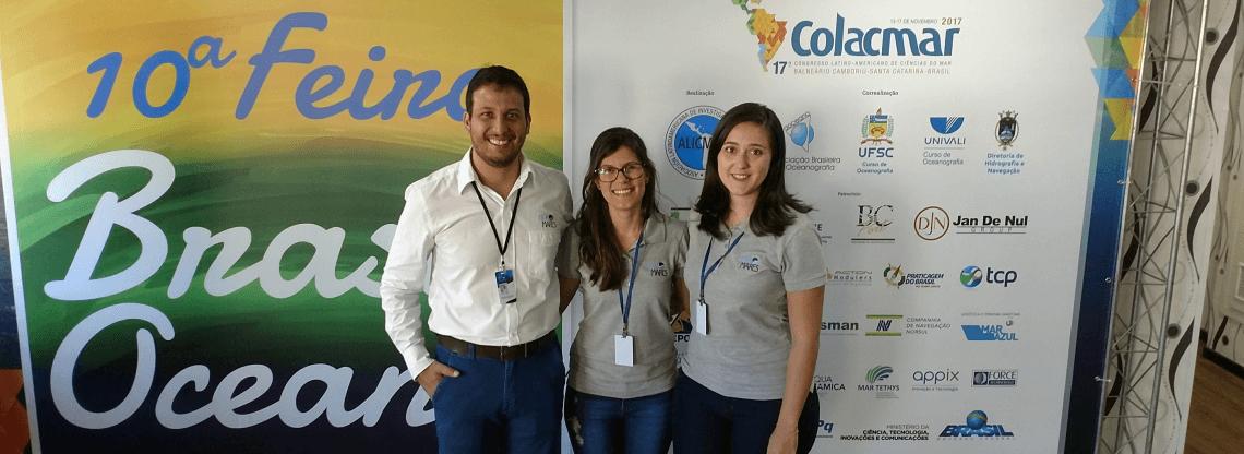 HidroMares no 17º Congresso Latino-Americano de Ciências do Mar